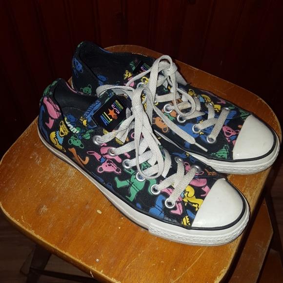 fac70d167dd4 Converse Shoes - Grateful Dead converse bears
